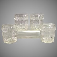 Group Four Baccarat Whiskey Tumblers 19th Century