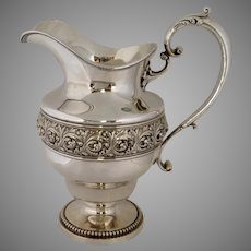 Sterling Water Pitcher American 1890's