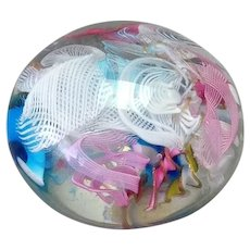 Cliche Scatter Glass Paperweight 19th c.