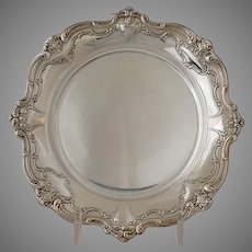 Chantilly Bread and Butter Plate Silverplate Vintage