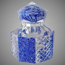 Baccarat Inkwell Millefiori Limited Edition 6 of 25