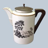 Chinese Export Make-Do Coffee Pot 19th C.