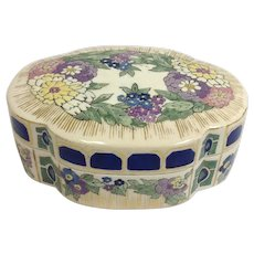 Art Nouveau Japanese Satsuma Box