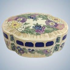 Art Nouveau Japanese Satsuma Box