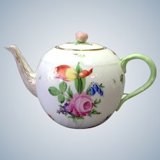 Herend Printemps Floral Teapot