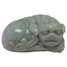 Jade Lion China 19th c.