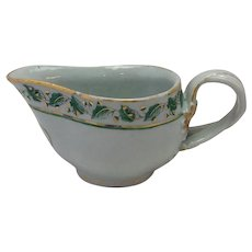 Chinese Export Gravy Boat 18th c.