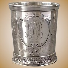 English Sterling Child's Cup American Circa 1870