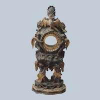Baroque Watch Holder Italian Carved 18th c