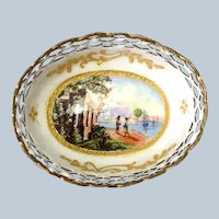 Enamel Dish Staffordshire 18th Century
