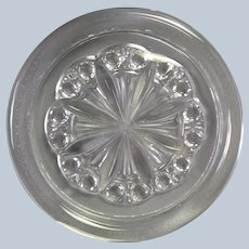 Baccarat Rosace Glass Wine Coaster 5.5""