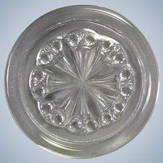 "Baccarat Rosace Glass Wine Coaster 5.5"""
