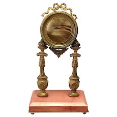 Gilt Bronze Watch Holder Louis XVI Style