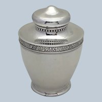Gorham Sterling Tea Caddy 1892