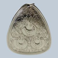Towle Three French Horns Ornament Sterling 1973
