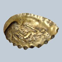 Nude Seashell Bronze Dish Garnier 1890's