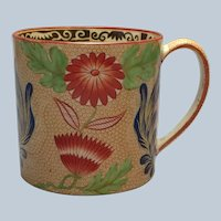 Wedgwood Pearlware Chrysanthemum Coffee Can 1810 Mug