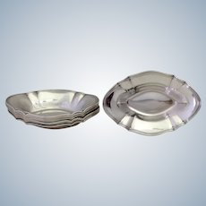 Eight Tiffany Sterling Candy or Nut Dishes 8 Sterling