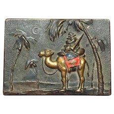 Vienna Bronze Camel Box 1900