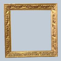 Gold Leaf Frame 19th c. 13 3/4""