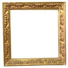 "Gold Leaf Frame 19th c. 13 3/4"""