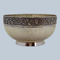Gorham Sterling Candy Dish or Sugar Bowl 1880's