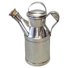 Reed & Barton Milk Jug Cocktail Shaker Silver Plate