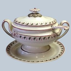 Wedgwood Pearlware Tureen and Underplate