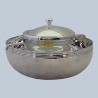 Christofle Silverplate Caviar Server