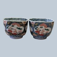 Two Japanese Rice Bowls