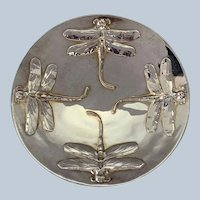 Christofle Libellule Dragonfly Bowl Silver Plate