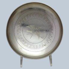 Gorham Aesthetic Bird Bowl 19th c.