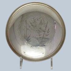 Gorham Aesthetic Bird Bowl 1879