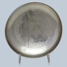 Aesthetic Movement Bird Bowl Gorham Sterling 1879