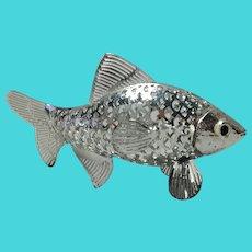 Christofle Fish Lumiere France  Brill Silverplate Figurine