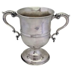 English Loving Cup London by Samuel Courtauld 1764
