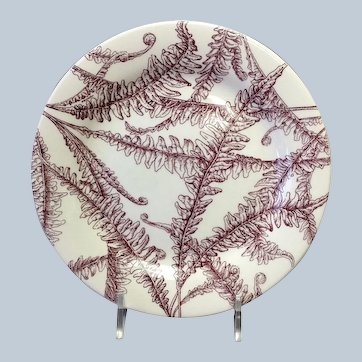 Hermes Les Maisons Enchantees Bread and Butter Plate 6 1/2""