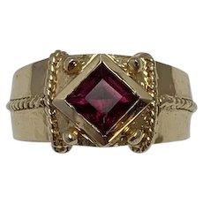 Amethyst 14K Gold Ring Sz. 6.5