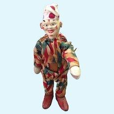 "Schoenhut Clown Humpty Dumpty Circus 8 1/4"" Tall"