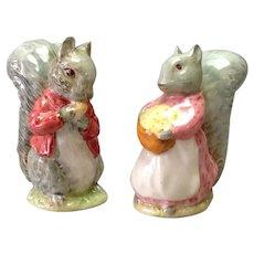 Beswick Squirrel Figurines Porcelain