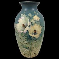 Weller Sarah McLaughlin Reed Floral Vase Painted