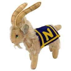 Steiff Naval Academy Mascot Goat C. 1957
