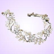 Vintage 1980 Rhinestone Necklace