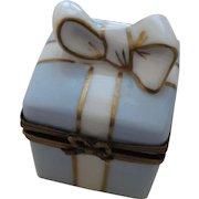 Limoges Hand Painted Trinket Box
