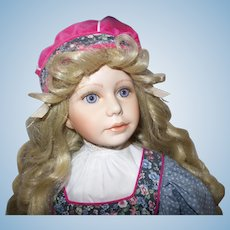 Vintage Thelma Resch Goldilocks Doll in Orignal Box