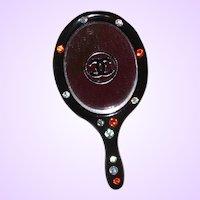 Chanel Resin Vanity Mirror Lapel Pin