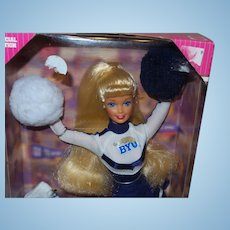 Vintage University Barbie BYU Doll Complete in Original Box