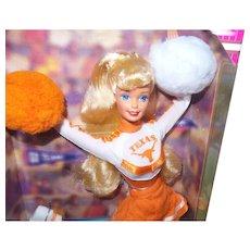 "Vintage University of Texas ""Longhorn"" Barbie Doll with Original Box"