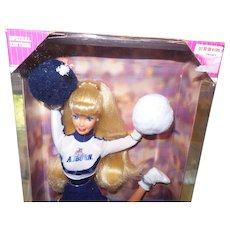 Vintage University of Auburn Barbie With Original Box NRFB