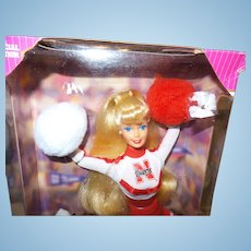 Vintage University of Nebraska Barbie Doll in Original Box NRFB